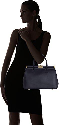 Scuro Main Borse à Sac Chicca Femme Blu Bleu p07Snx