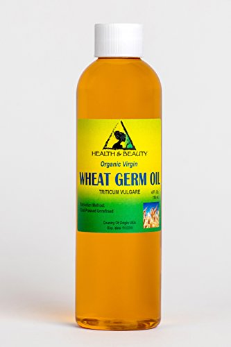 (Wheat Germ Oil Unrefined Organic Carrier Virgin Cold Pressed Pure 4)