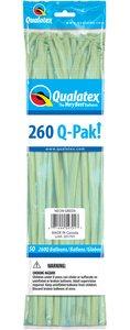 Qualatex 260Q Nozzles UP 50 Count Neon Green