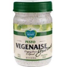 FOLLOW YOUR HEART Dipping Sauce and Spread, Pesto, 12 Ounce (Pack of 6) by Follow Your Heart