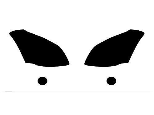 Rvinyl Rtint Headlight Tint Covers for Nissan Maxima 2007-2008 - Chameleon Smoke