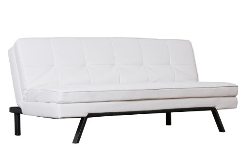 Abbyson Bayside Leather Convertible Sofa by Abbyson Living