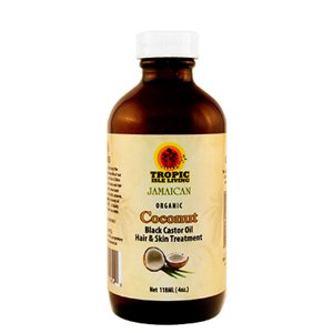 Tropic Isle Living Coconut Jamaican Black Castor Oil