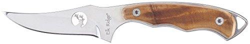 Elk Ridge ER-059 Fixed Blade Hunting Knife, Straight Edge Bl