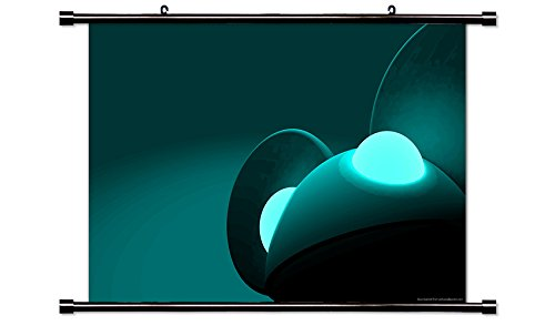 Price comparison product image Deadmau5 Elctronic Musician Wall Scroll Poster (32 x 20) Inches