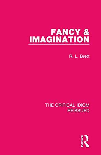 Fancy & Fancy: Volume 11 (The Critical Idiom Reissued)