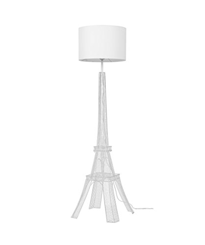 "Euro Style Collection Eiffel Tower 65"" Torchiere Floor La..."