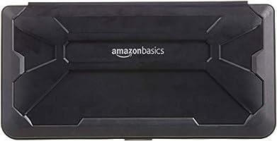 AmazonBasics - Funda rígida tipo caja para Nintendo Switch, Negro: Amazon.es: Videojuegos