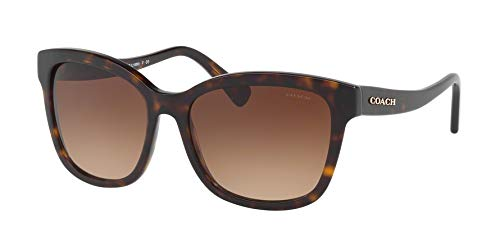 COACH Women's 0HC8219 Dark Tortoise/Brown Gradient One Size