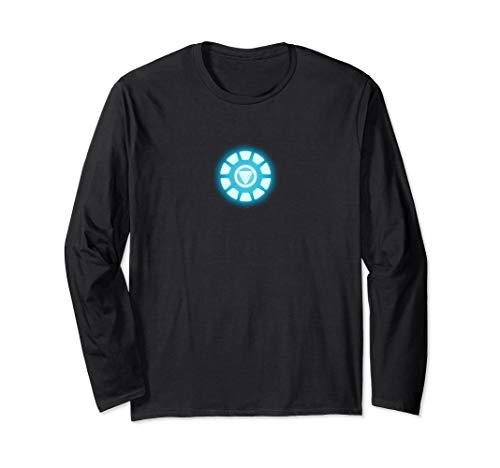 Arc Reactor Shirt, Energy Power Source Emblem Long -