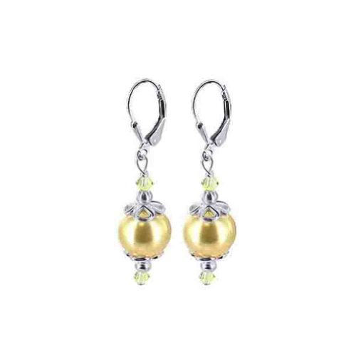 gem avenue earrings gold - 3