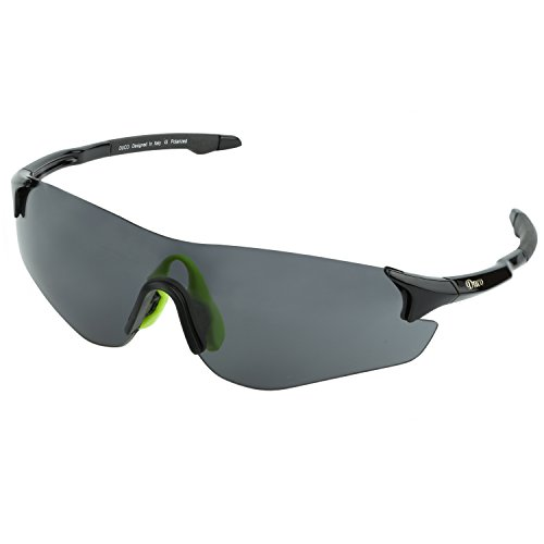 DUCO Rimless Sports Sunglasses for Golf Cycling TR90 Superlight Temple with Adjustable Nose Pad 0029 from DUCO
