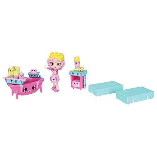 Shopkins HPH013 - Coffret Déco & Poupée - Bathing Bunny