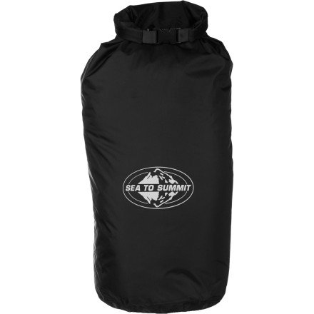 Sea to Summit Lightweight Dry Sack,Black,Large-13-Liter (Large Dry Sack)