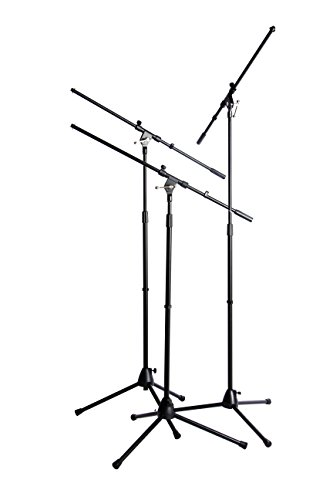 World Tour Microphone Stand, Pack of 3