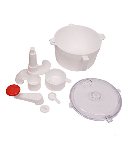 Pog Dough And Atta Maker With Measuring Cups White