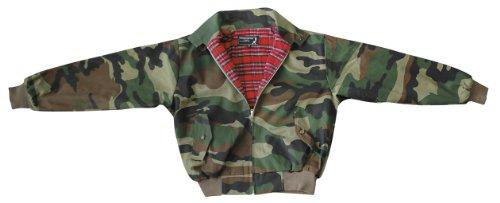"""Knightsbridge """"harrington"""" veste motif camouflage taille s"""
