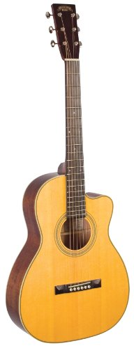 Recording King RP2-626-C Studio Series Size 00 Acoustic Guitar with Cutaway