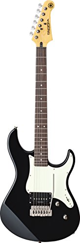 Yamaha Pacifica PAC510V BL Solid-Body Electric Guitar, Black