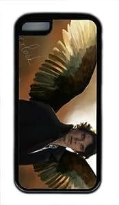 Sherlock Holmes Customized Hard tpu ipod touch 5 ipod touch 5 Black Case