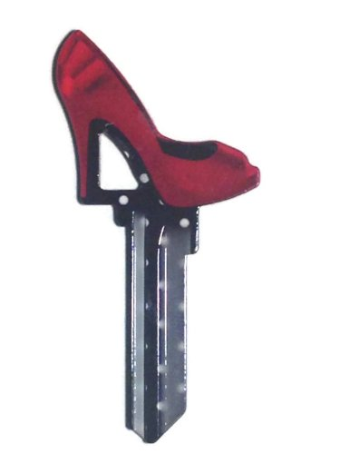 High HeelsKwikset KW1/KW10/KW11 House Key Blank Trendy Shoes - Kw10 Key Blank