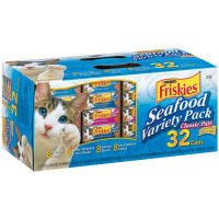 UPC 050000454358, Friskies Seafood Variety Pack Canned Cat Food 32 - 5.5oz Cans