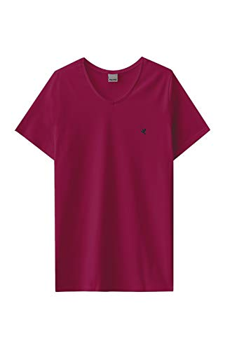 Camiseta Tradicional Malwee Masculino Vermelho