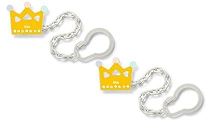 NUK chupete 10256447 cadena con clip, libre de BPA, 1 pieza ...