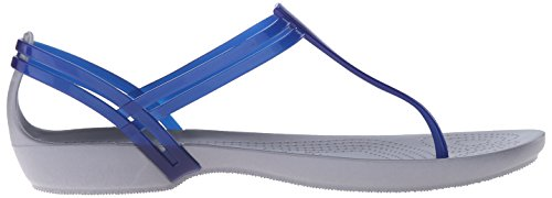Scarpe Donna Con Cerulean Isabella A Blue W Crocs Tacco Col T Strap Cinturino qAWwxRHI