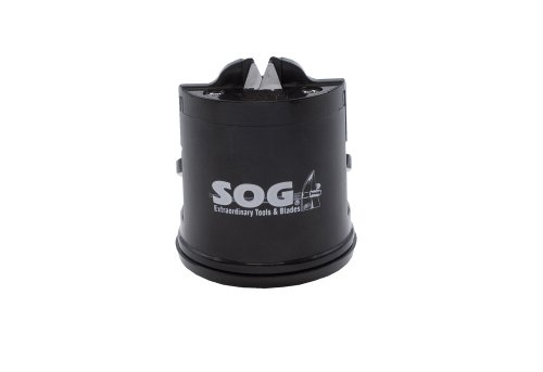 "SOG Countertop Sharpener Gear SH-02 2.5"" Tall, Suction Botto"
