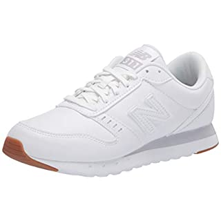 New Balance Women's 311 V2 Sneaker, White, 7.5 M US