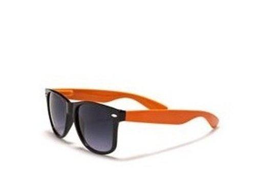 4sold universelle soleil de Lunettes Taille Homme Orange noir Noir HqrHAvTx