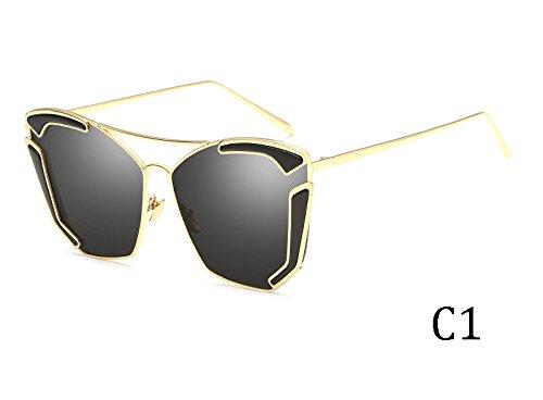 sol Sunglasses de UV400 3015C2 de sol Unas sexy Multicolor de gafas enormes TL 3015C1 mujer gafas HaqdSSf