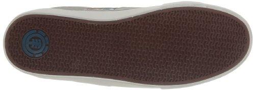 Element Billings - Zapatos de Cordones de cuero hombre Gris (Grau (GREY 6017))