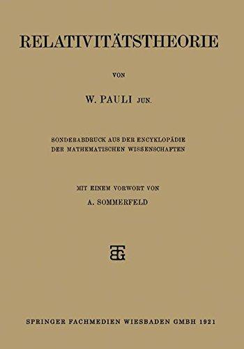 Relativitätstheorie (German Edition)