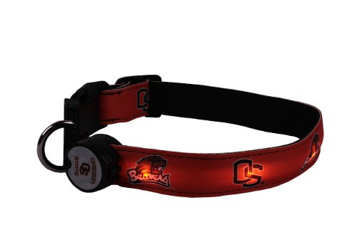 NCAA LED Light Dog Collar product image