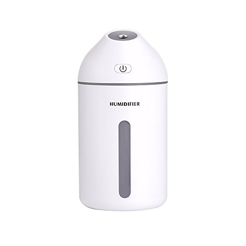 NEWCOSPLAY Humidifier Mini USB Mute Bedroom Home Office air humidifier car Water Sprayer Small Portable Pregnant Women Baby Home (White) by NEWCOSPLAY
