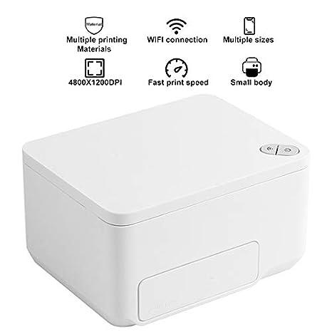 TANCEQI Impresora de Inyección de Tinta Portatil Mini WiFi Inala ...