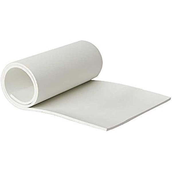 Amazon Com White Rubber Sheet Fda Nitrile 1 8 Thick 12 X 24 Home Improvement