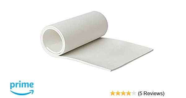 """High Temp FDA 12/"""" x 12/"""" Gray Silicone Rubber Sheet 1//4/"""" thick 65 durometer"""