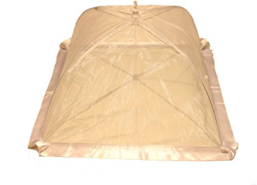 Quality Collapsible Mesh Food Cover Tent │ Keeps Flies And Bugs Off Your Food │ Great For Indoor And Outdoor Use by Texas United Trading Company
