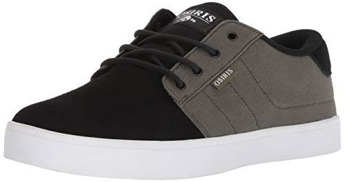 Osiris Men's Mesa Skate Shoe, Dark Green/Black/White, 9.5 M US (Shoes Mens Osiris)