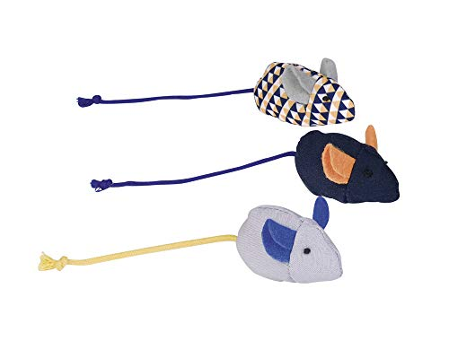 Nobby 80205 Fabric Mice with Catnip