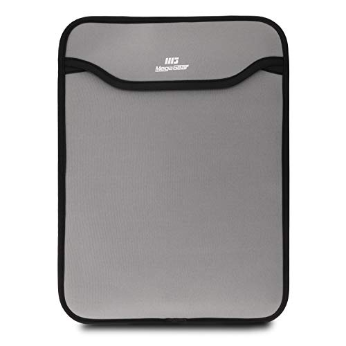 MegaGear MG1630 Ultra Light Neoprene Laptop Sleeve Case Compatible with 15-inch MacBook Pro - Gray
