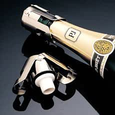 Super seal stopper chrome wine accessory for Super u champagne