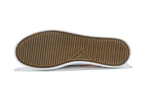 SHFANG Señora Zapatos Ocio Personalidad Pequeño blanco Zapatos Confort Cómodo Movimiento Estudiantes Diario Compras Negro Rosa white powder