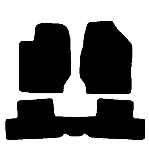 6 opinioni per Tappeti per Auto con Posteriore Intero, Set Completo di Tappetini su Misura in