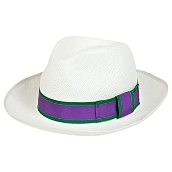 Wimbledon Ladies Eleanor Panama Hat M  Amazon.co.uk  Sports   Outdoors 77f8572adc9