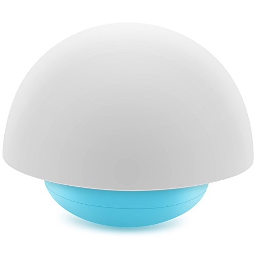 Night Light for Kids, Bassplay Mushroom Nursery Night Light, Soft Silicone Lampshape, 3 Light Modes, 7 Color Changing, Touch Control by Bassplay