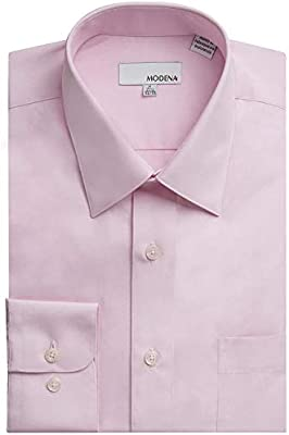 All Sizes Including Big /& Tall Colors Modena Men/'s Long Sleeve Dress Shirt